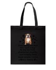 Bulldog My Family 2905 Tote Bag thumbnail