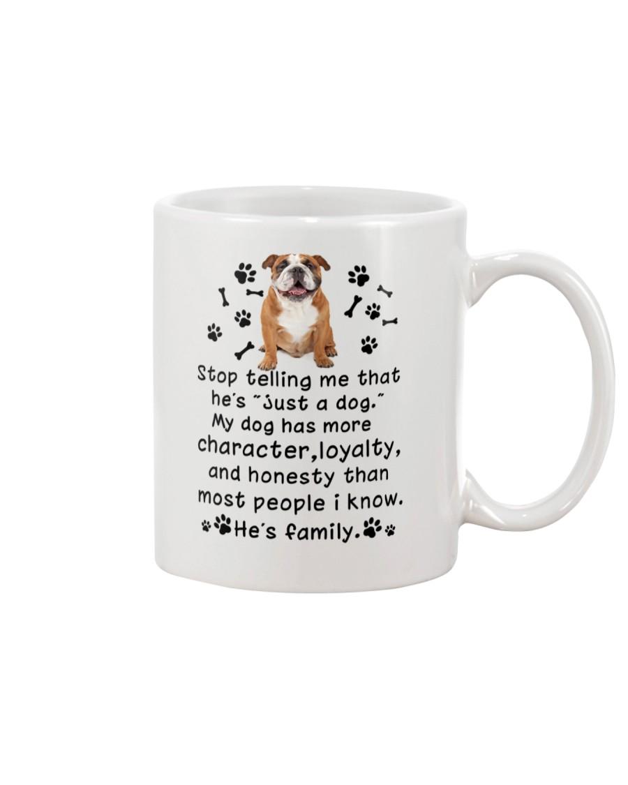 Bulldog My Family 2905 Mug