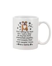 Bulldog My Family 2905 Mug front