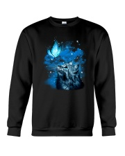 Cat Butterfly 2604 Crewneck Sweatshirt thumbnail