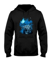 Cat Butterfly 2604 Hooded Sweatshirt thumbnail