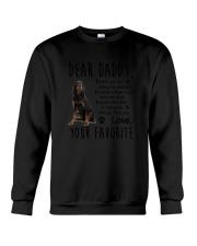 Gordon Setter Daddy Favorite 2105 Crewneck Sweatshirt thumbnail