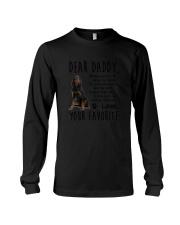 Gordon Setter Daddy Favorite 2105 Long Sleeve Tee thumbnail