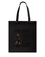 Gordon Setter Daddy Favorite 2105 Tote Bag thumbnail