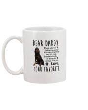 Gordon Setter Daddy Favorite 2105 Mug back