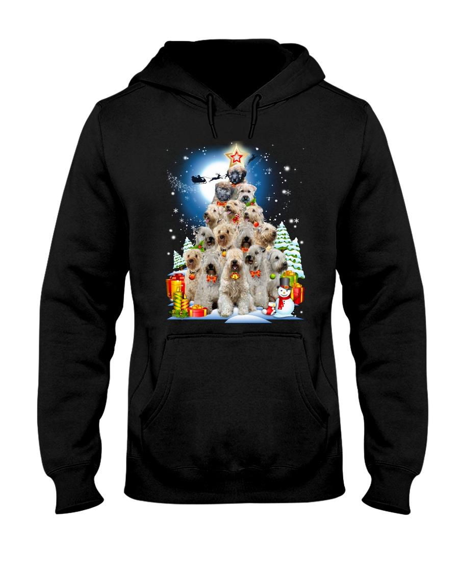 GAEA - Soft Coated Wheaten Terrier Pine - 13 Hooded Sweatshirt