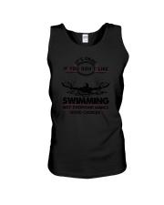Swimming Good Choices 2504 Unisex Tank thumbnail