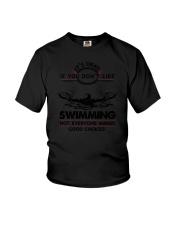 Swimming Good Choices 2504 Youth T-Shirt thumbnail