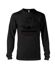 Swimming Good Choices 2504 Long Sleeve Tee thumbnail