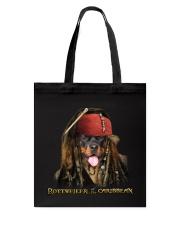 Rottweiler Pirates Tote Bag thumbnail