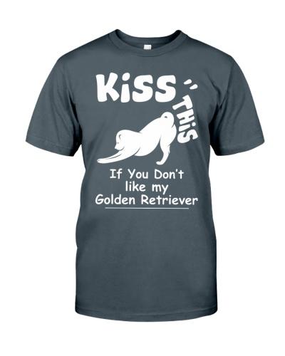 Golden Retriever Kiss This