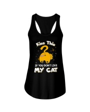 Cat Kiss This 1206 Ladies Flowy Tank tile