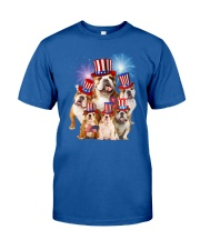 Bulldog USA 2505 Classic T-Shirt front