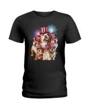Bulldog USA 2505 Ladies T-Shirt thumbnail