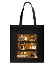 German Shepherd Good Bad Tote Bag thumbnail