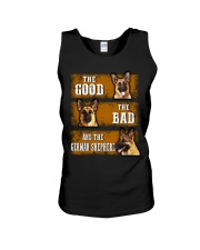 German Shepherd Good Bad Unisex Tank thumbnail