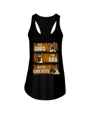 German Shepherd Good Bad Ladies Flowy Tank thumbnail
