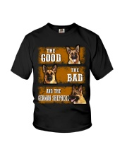 German Shepherd Good Bad Youth T-Shirt thumbnail