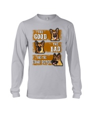 German Shepherd Good Bad Long Sleeve Tee thumbnail