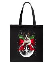 NYX - Boston Terrier Xmas - 0610 Tote Bag thumbnail