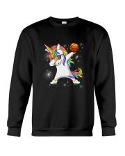 Unicorn Basketball 2604 Crewneck Sweatshirt thumbnail