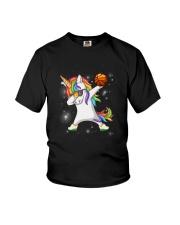 Unicorn Basketball 2604 Youth T-Shirt thumbnail