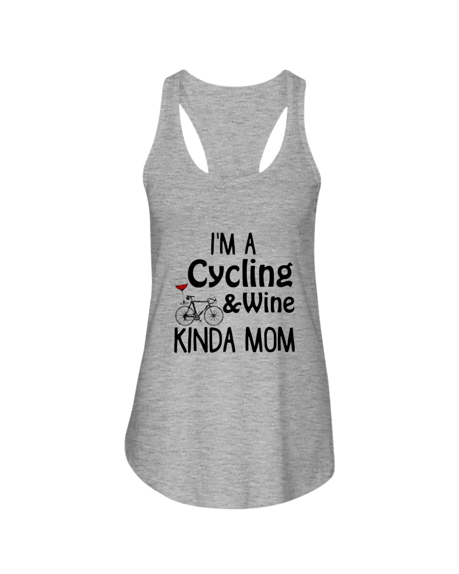 Cycling Kinda Mom 2304 Ladies Flowy Tank