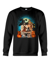Gaea- Yorkshire Terrier Halloween- 1508- 15 Crewneck Sweatshirt thumbnail