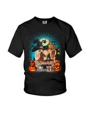 Gaea- Yorkshire Terrier Halloween- 1508- 15 Youth T-Shirt thumbnail