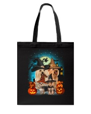 Gaea- Yorkshire Terrier Halloween- 1508- 15 Tote Bag thumbnail