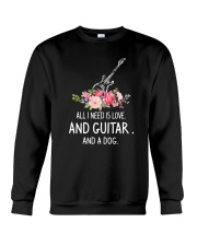 Guitar And Dog 2304 Crewneck Sweatshirt thumbnail