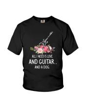 Guitar And Dog 2304 Youth T-Shirt thumbnail