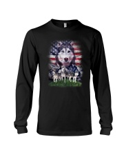 Siberian Husky Proud 0806 Long Sleeve Tee thumbnail
