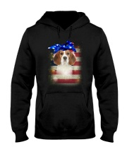 Beagle USA 0606 Hooded Sweatshirt thumbnail