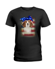 Beagle USA 0606 Ladies T-Shirt thumbnail