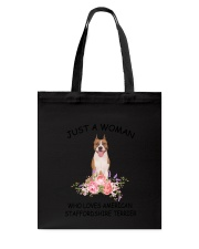 American Staffordshire Terrier Love Woman 2104 Tote Bag thumbnail