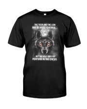 Wolf Does Not Perform 2205 Classic T-Shirt front
