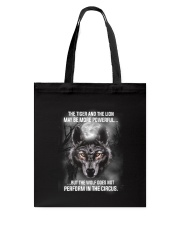 Wolf Does Not Perform 2205 Tote Bag thumbnail
