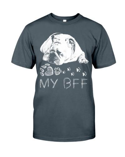 Bulldog Pencil BFF