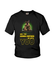 German Shepherd With You 2504 Youth T-Shirt tile