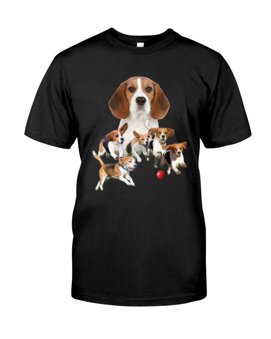 GAEA - Beagle Running 1403 Classic T-Shirt
