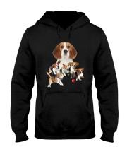 GAEA - Beagle Running 1403 Hooded Sweatshirt thumbnail