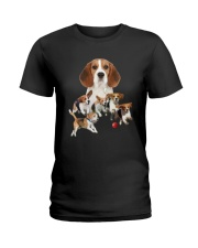 GAEA - Beagle Running 1403 Ladies T-Shirt thumbnail