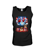 Puggle Holiday D2105 Unisex Tank tile