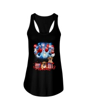 Puggle Holiday D2105 Ladies Flowy Tank thumbnail