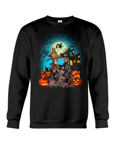 Gaea- Doberman Pinscher Halloween- 1508- 11