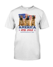 Shar Pei 4th7 0706 Classic T-Shirt front