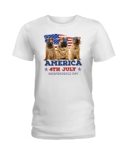 Shar Pei 4th7 0706 Ladies T-Shirt thumbnail