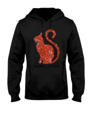 GAEA - Cat Heart Bling 1703 Hooded Sweatshirt thumbnail
