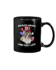 Shih Tzu I Love USA 0606 Mug thumbnail